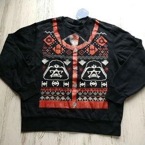 Star Wars Men's Christmas Sweatshirt Graphic Print